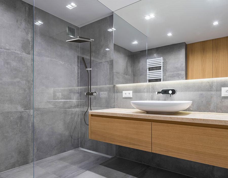 Metamorfoza łazienki Beton I Drewno W łazience Elements