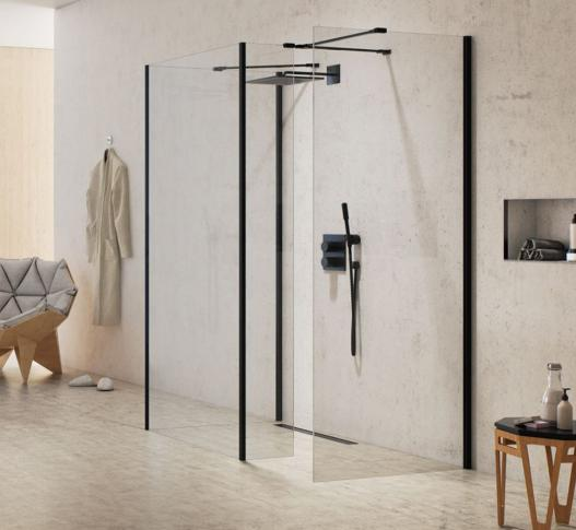 Ścianka walk-in Modus Black 100 cm