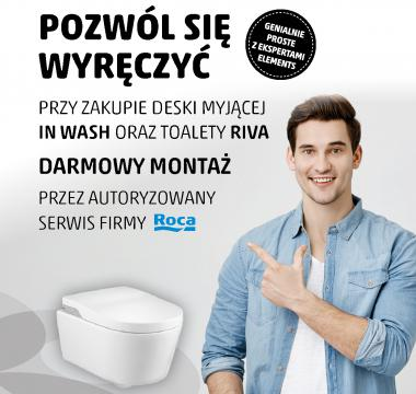 In Wash oraz toaleta Riva
